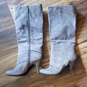 Fergalicious Gray High boots